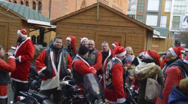 Motopaczka klubu Voyager w sobotę. Tym razem motocykliści obdarują seniorów