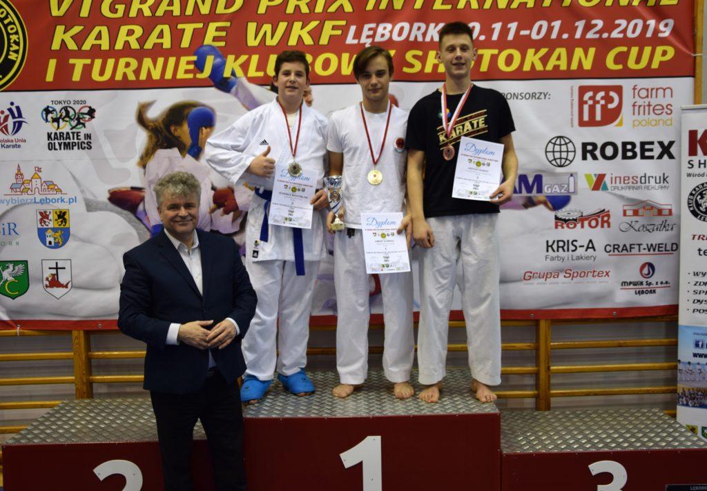 9 1024x712 - Karatecy z klubu Morote Głowaczewo na Międzynarodowym Turnieju Karate WKF zdobyli trzy medale