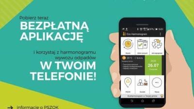 Mobilna i darmowa aplikacja EcoHarmonogram na telefon podpowie jak prawidłowo sortować śmieci (link)