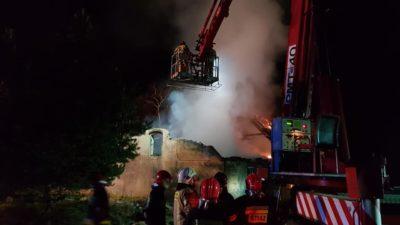 W Ołużnej (gmina Gościno) doszczętnie spłonął dom. To było podpalenie?