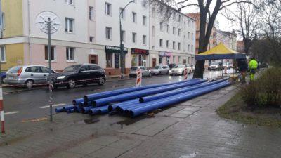 Rozpoczyna się przebudowa ulic 18 Marca i Zwycięzców. Na razie bez utrudnień w ruchu kołowym