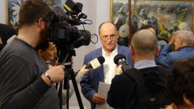 #zostańwdomu. Wirtualne zwiedzanie Galerii Sztuki Współczesnej. Oprowadza Dariusz Kaleta, dyrektor GSW (wideo)
