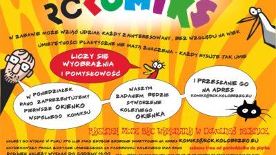 """Konkurs """"Kolorowy Kołobrzeg"""" dla najmłodszych. RCK zaprasza też do wspólnego tworzenia Kołobrzeskiego Komiksu"""