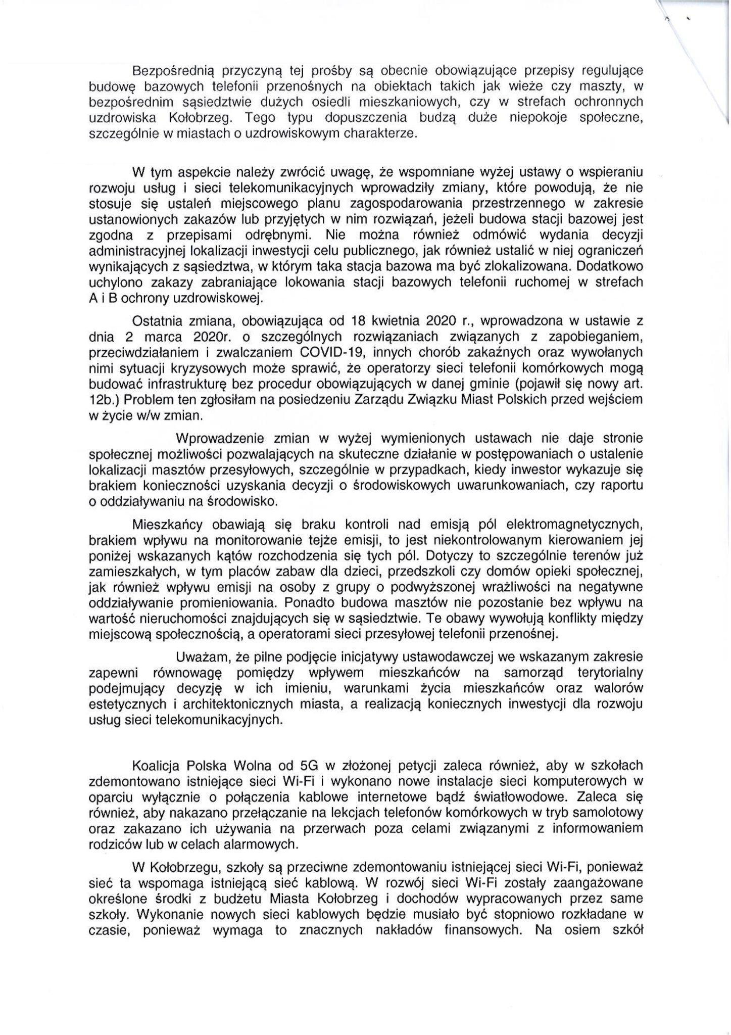 0002 4 - NA ŻYWO: Trwa posiedzenie miejskiej komisji. Wśród tematów petycja Koalicji Polska Wolna od 5 G (zakończona, wideo)