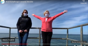 #hot16challenge2. Wójt Ustronia Morskiego przyjęła wyzwanie i rymowała w muzycznej akcji dla medyków. Kogo nominowała? (wideo)