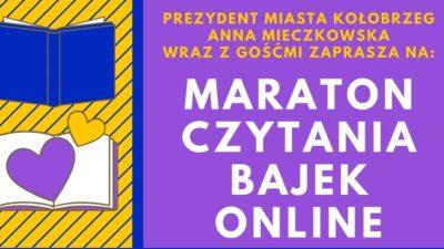Maraton czytania bajek online na Dzień Dziecka (plakat)