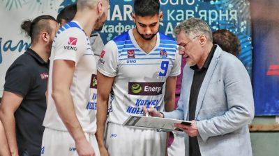 Nikołaj Tanasiejczuk nie jest już trenerem Energa Kotwicy. Zastąpi go były zawodnik Czarnych Słupsk