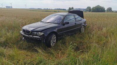 Wypadek między Kukinią a Stojkowem