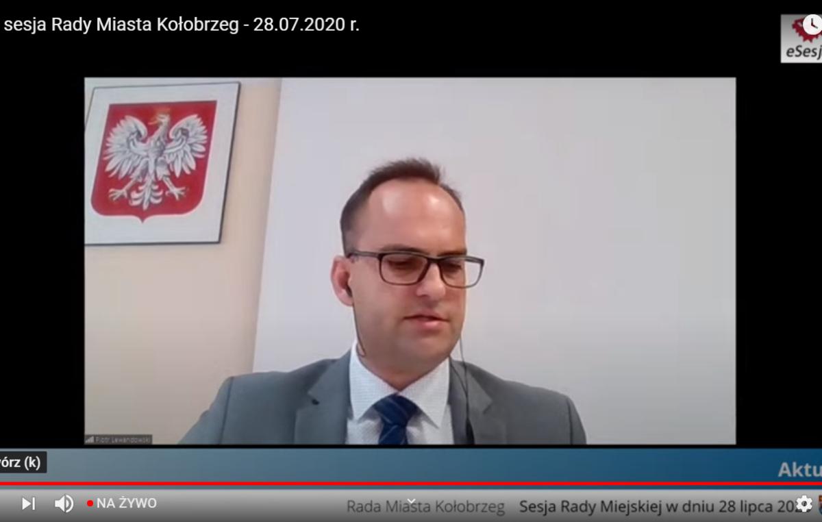 NA ŻYWO:  XXVI sesja Rady Miasta Kołobrzeg (ZAKOŃCZONA)