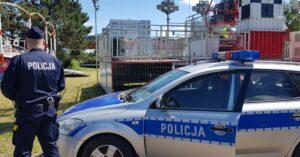 Policja skontrolowała wesołe miasteczka