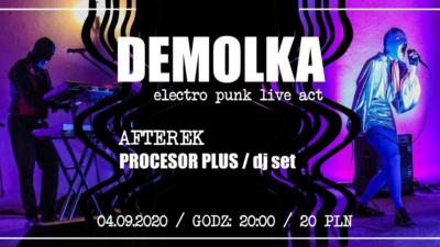DEMOLKA w porcie jachowym, czyli electro-punk po polsku w najlepszym wydaniu (zaproszenie na koncert)