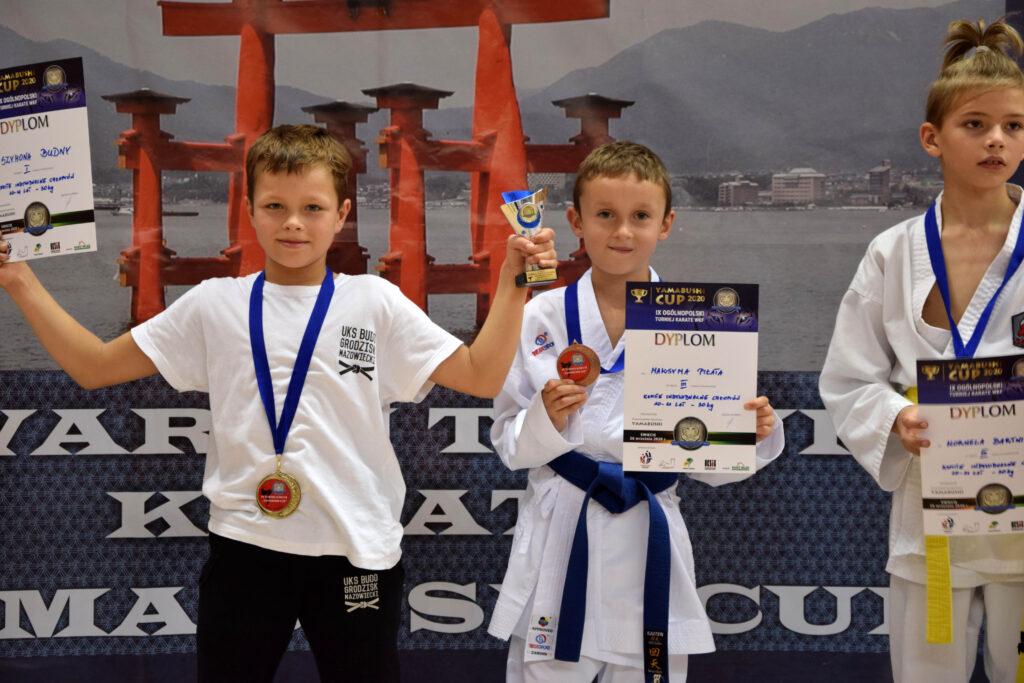 104 1024x683 - Cztery medale karateków klubu Morote. Młodziutki Maksym, mimo kontuzji, nie poddał się i dzielnie walczył dalej