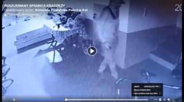 Włamał się do mieszkania, następnie ukradł samochód. Policja poszukuje mężczyznę, którego nagrała kamera (wideo)