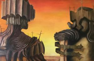 18 września, GSW, wernisaż wystawy malarstwa Zygmunta Jasnocha, godz. 19, zaproszenia