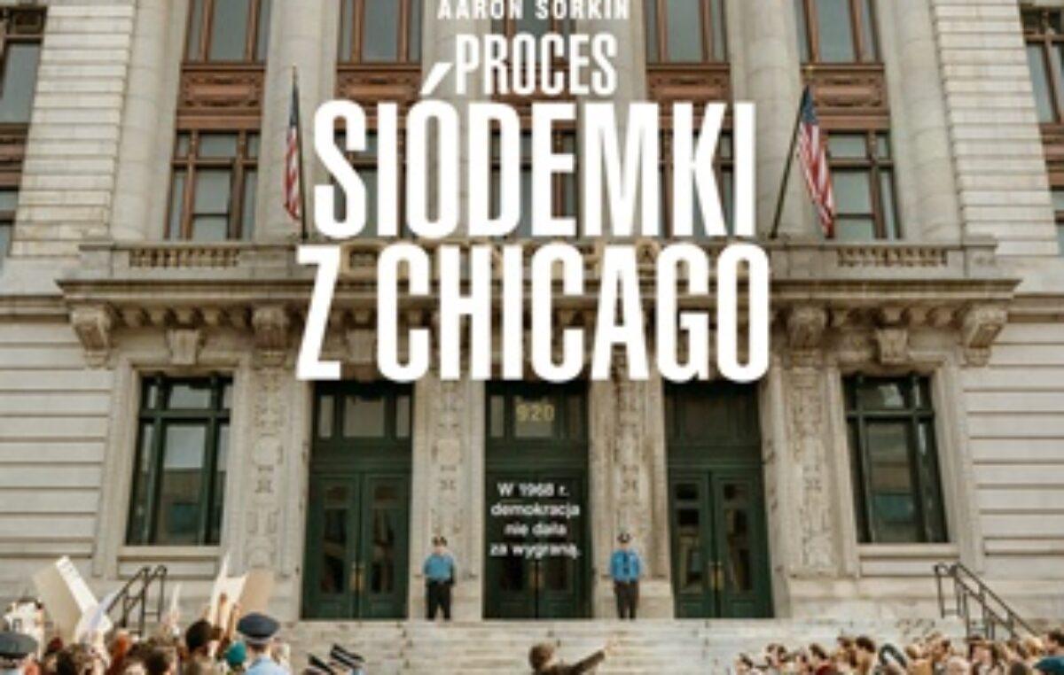 """14 października, RCK, DKF """"Sztorm""""/film """"Proces siódemki z Chicago"""", godz. 19, bilety 12 zł"""