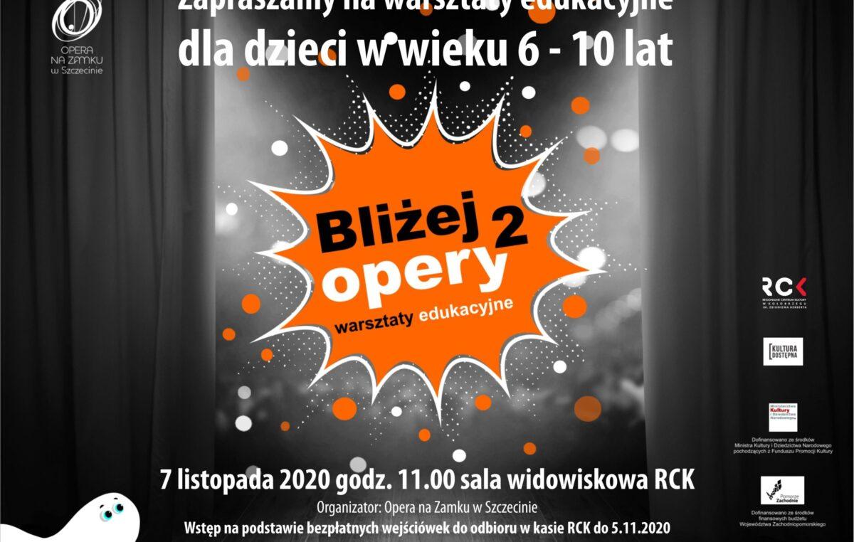Opera na Zamku w Szczecinie przyjedzie do Kołobrzegu i zaprasza dzieci na bezpłatne warsztaty