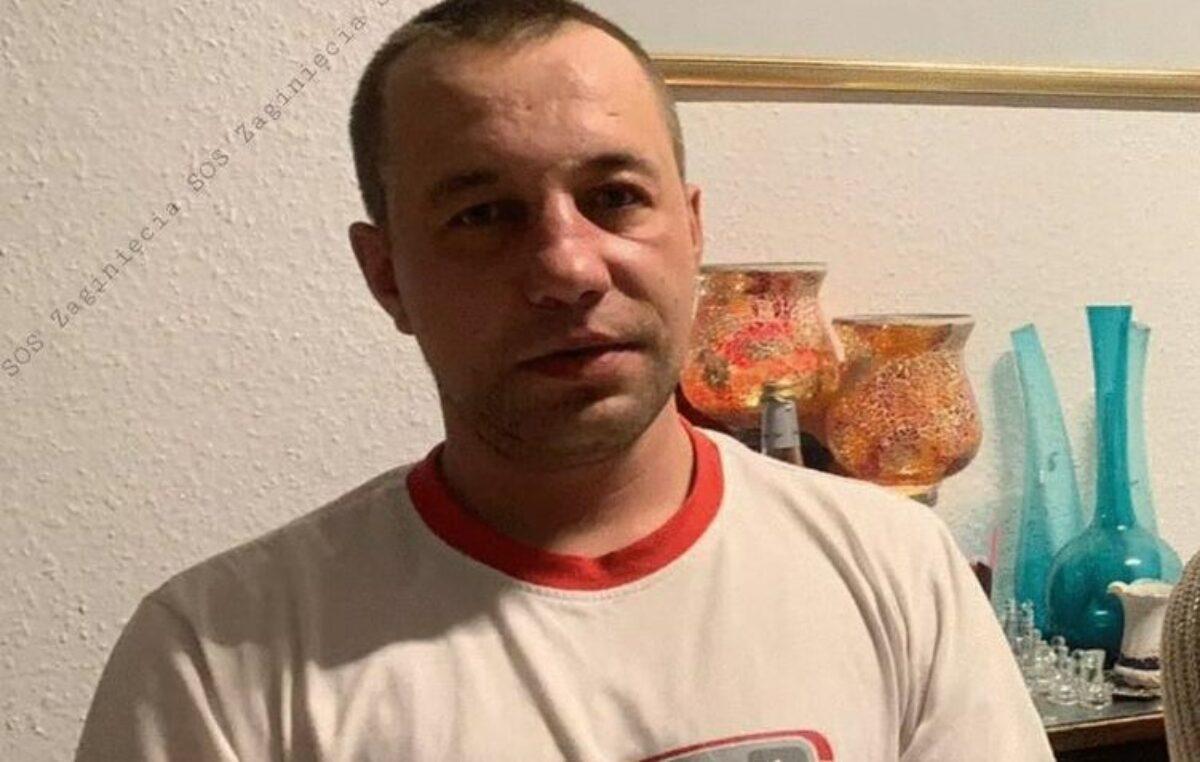 39-letni Robert Gołębiowski zaginął pod koniec sierpnia. Policja apeluje o pomoc w poszukiwaniach