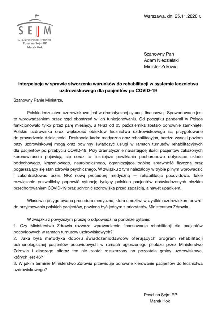 0001 724x1024 - Pocovidowa rehabilitacja w Kołobrzegu szansą dla uzdrowiska, by stanąć na nogi