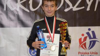 Wiktor Wojarski, zawodnik klubu Morote, zdobył Puchar Polski. Brawo!