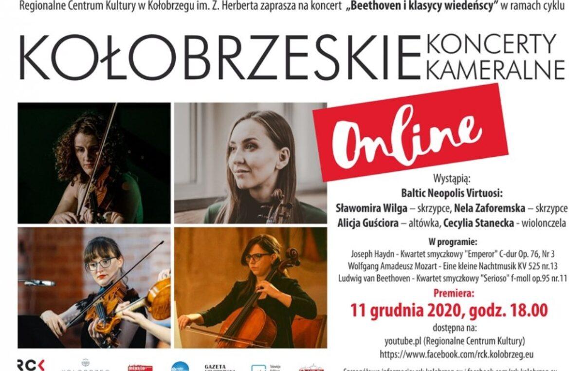"ONLINE: 11 grudnia koncert ""Beethoven i klasycy wiedeńscy"", godz. 18"