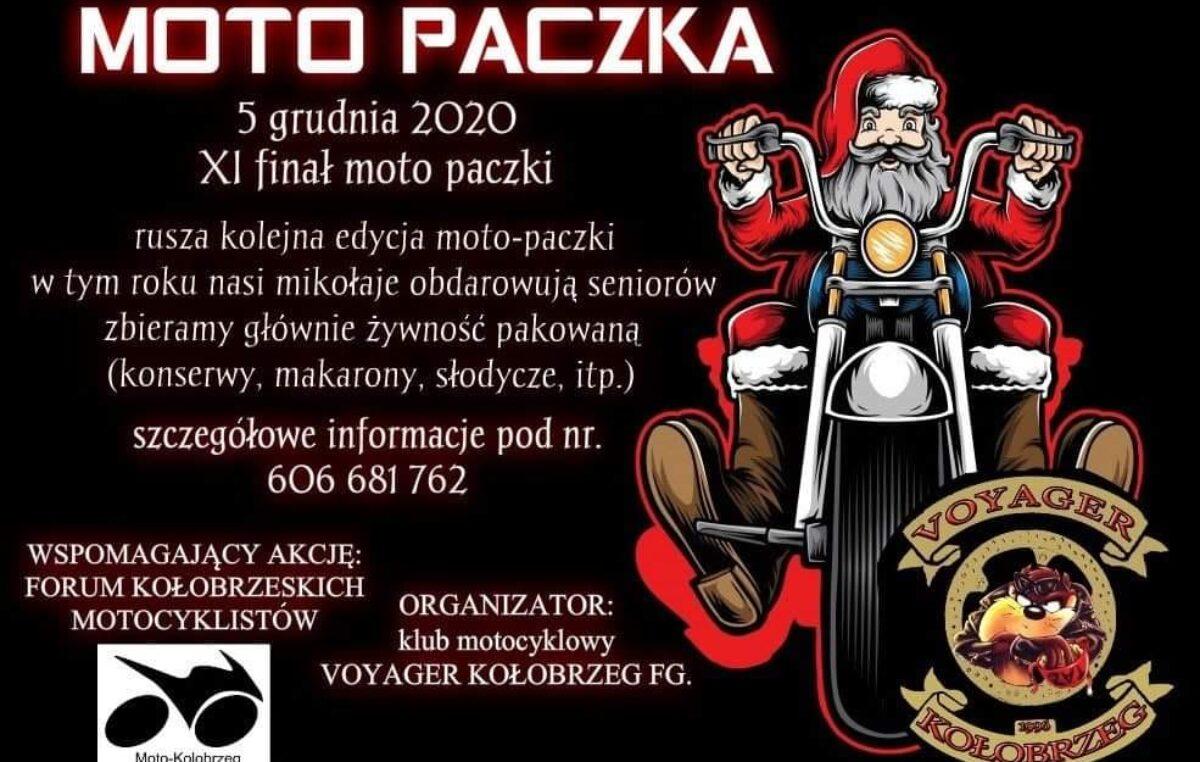 MotoPaczki w tym roku pojadą do seniorów. Finał 5 grudnia