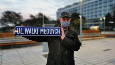 Pan Krzysztof o powrocie do nazwy ul. Walki Młodych