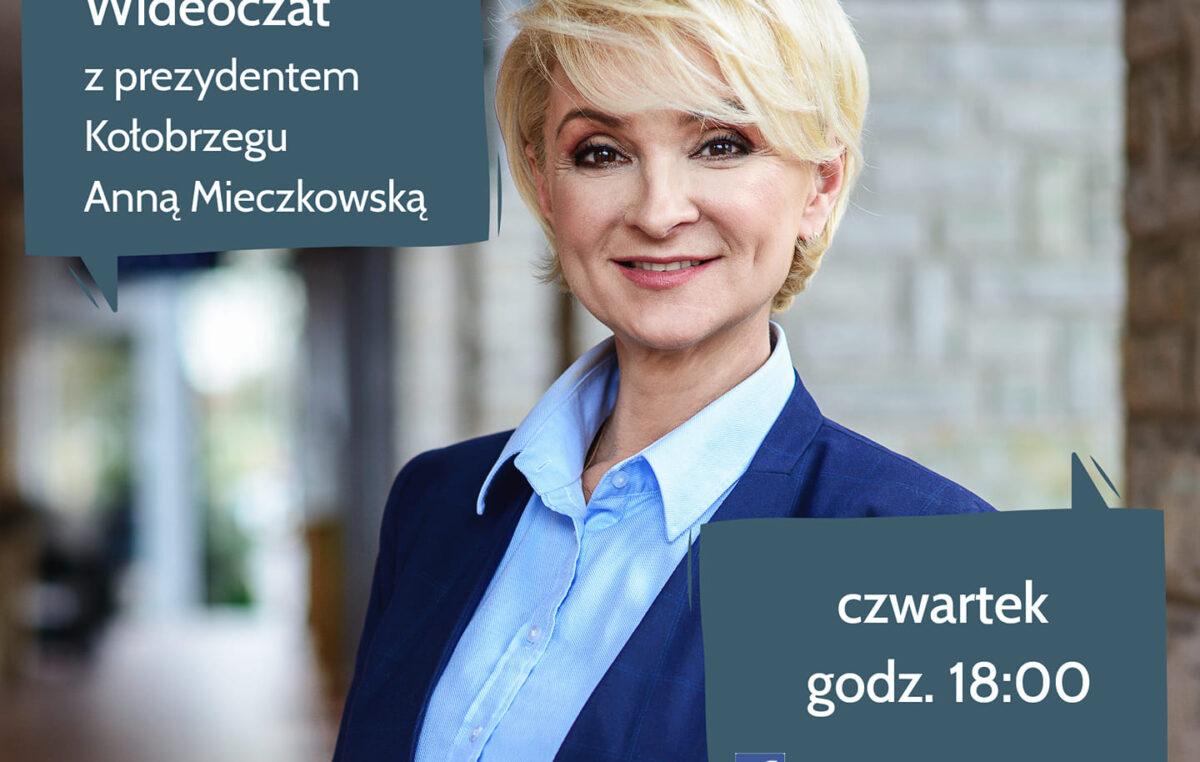 W czwartek wideoczat prezydent Kołobrzegu z mieszkańcami