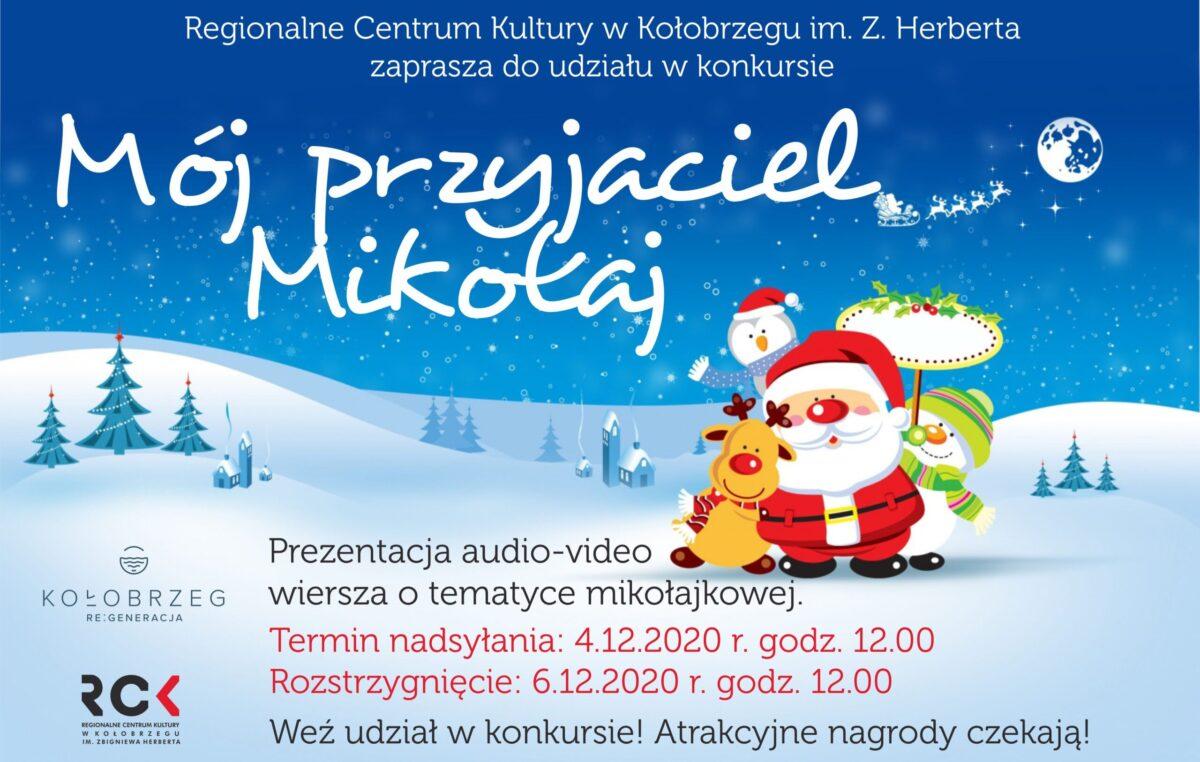 """Konkurs dla najmłodszych """"Mój przyjaciel Mikołaj"""""""
