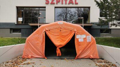 Więcej łóżek w kołobrzeskim szpitalu dla pacjentów z koronawirusem