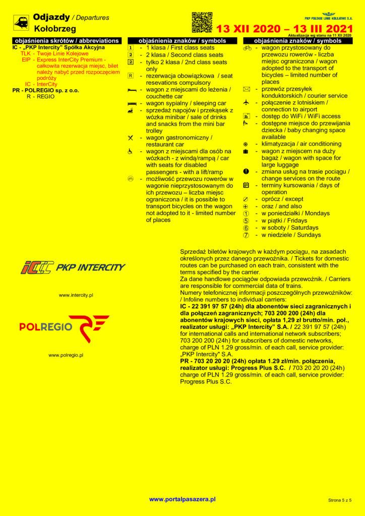 odjazdy5 724x1024 - Pendolino pojedzie jeszcze szybciej, nowe połączenia z Wrocławiem i Przemyślem. Jak zmieni się rozkład jazdy pociągów?