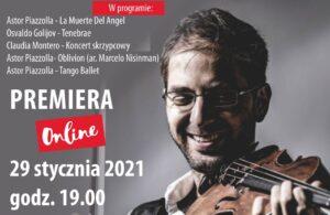 ONLINE: 29 stycznia, koncert karnawałowy z okazji 100. urodzin Astora Piazzoli