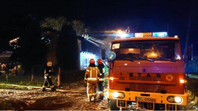 Ruszyła zbiórka dla strażaka, któremu pożar zniszczył dom