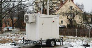 W dzielnicy uzdrowiskowej stanęła stacja pomiaru jakości powietrza