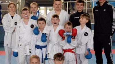 11 karateków z klubu Morote dzielnie walczyło na zgrupowaniu