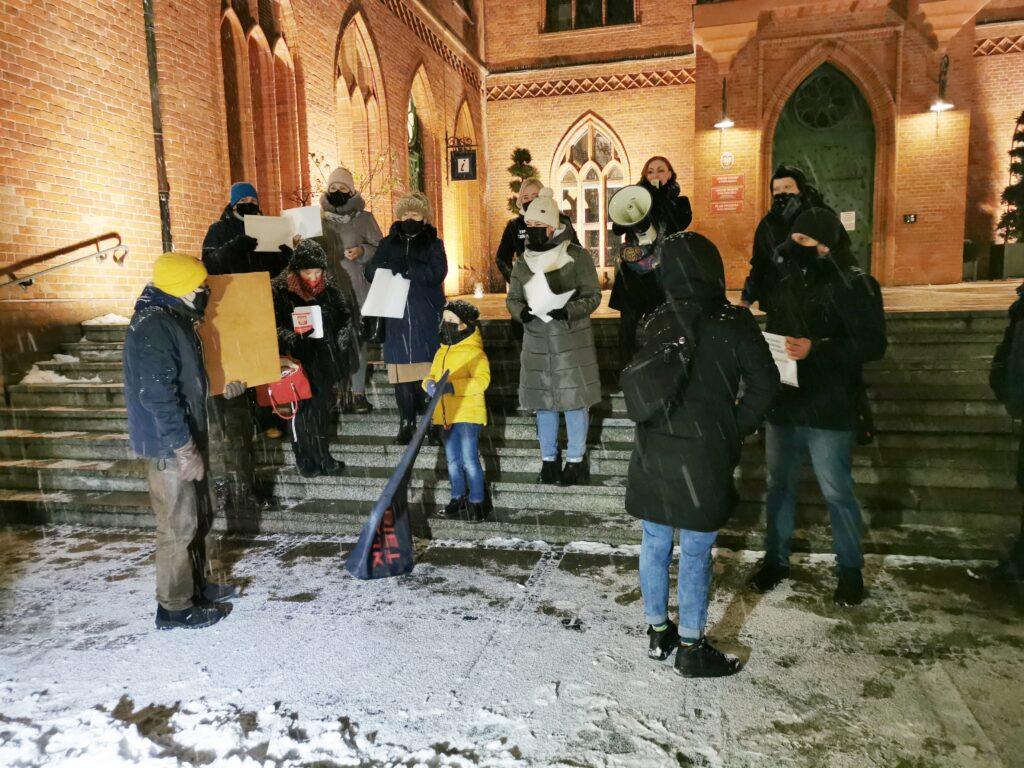 """strajk4 1024x768 - Protest """"Media bez wyboru"""" (ZDJĘCIA, WIDEO)"""
