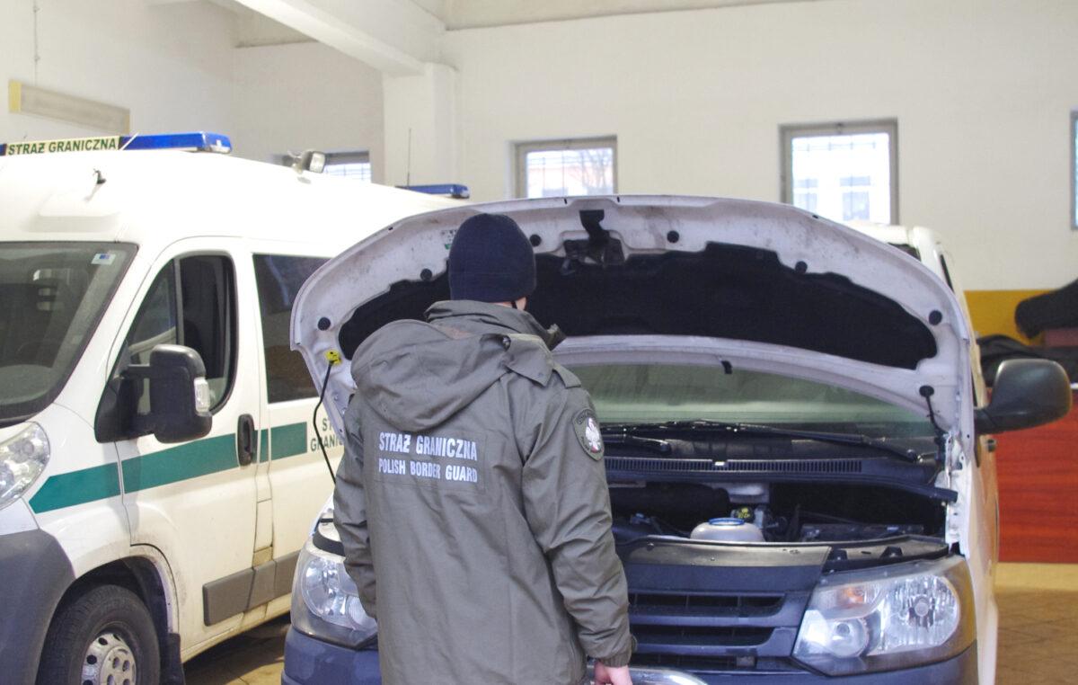 Skradzionego w Niemczech Volkswagena Transportera,  odzyskała Straż Graniczna w Kołobrzegu