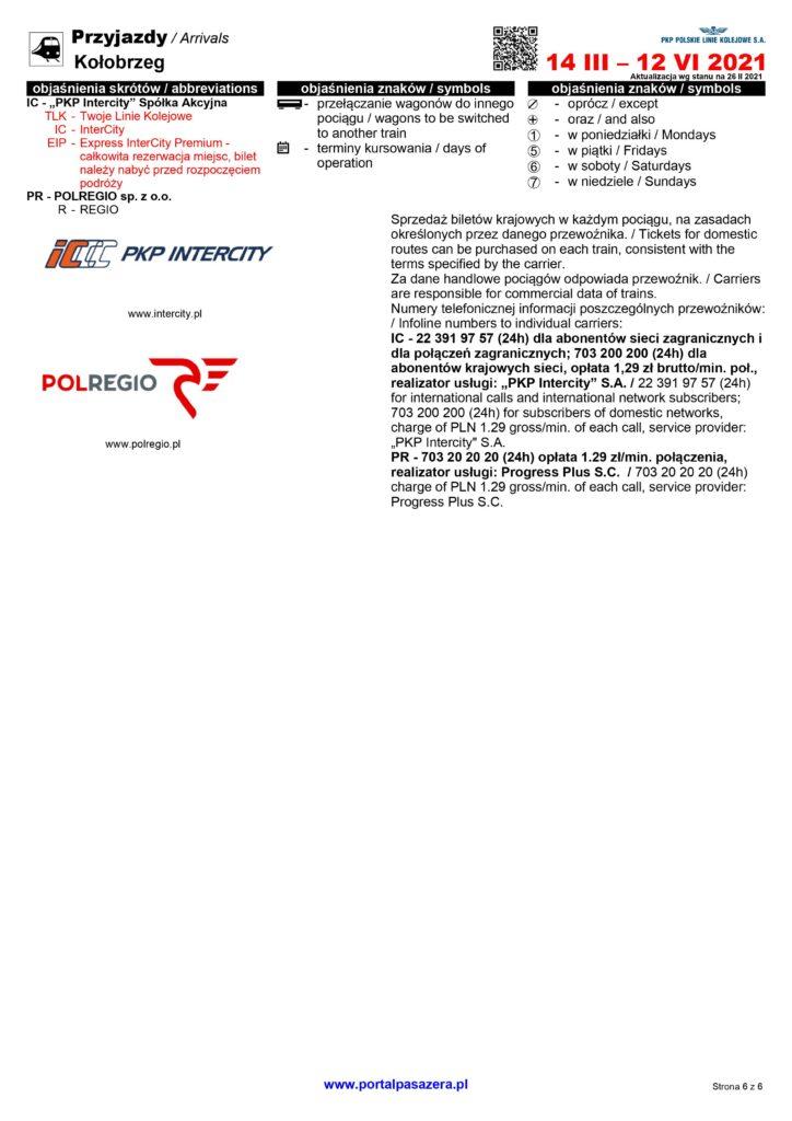 0006 724x1024 - Wiosenna korekta rozkładu jazdy pociągów (plakaty stacyjne)