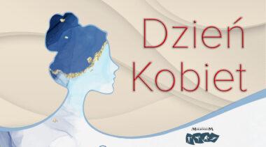 Dzień Kobiet w Kołobrzegu (program wydarzeń, plakat)