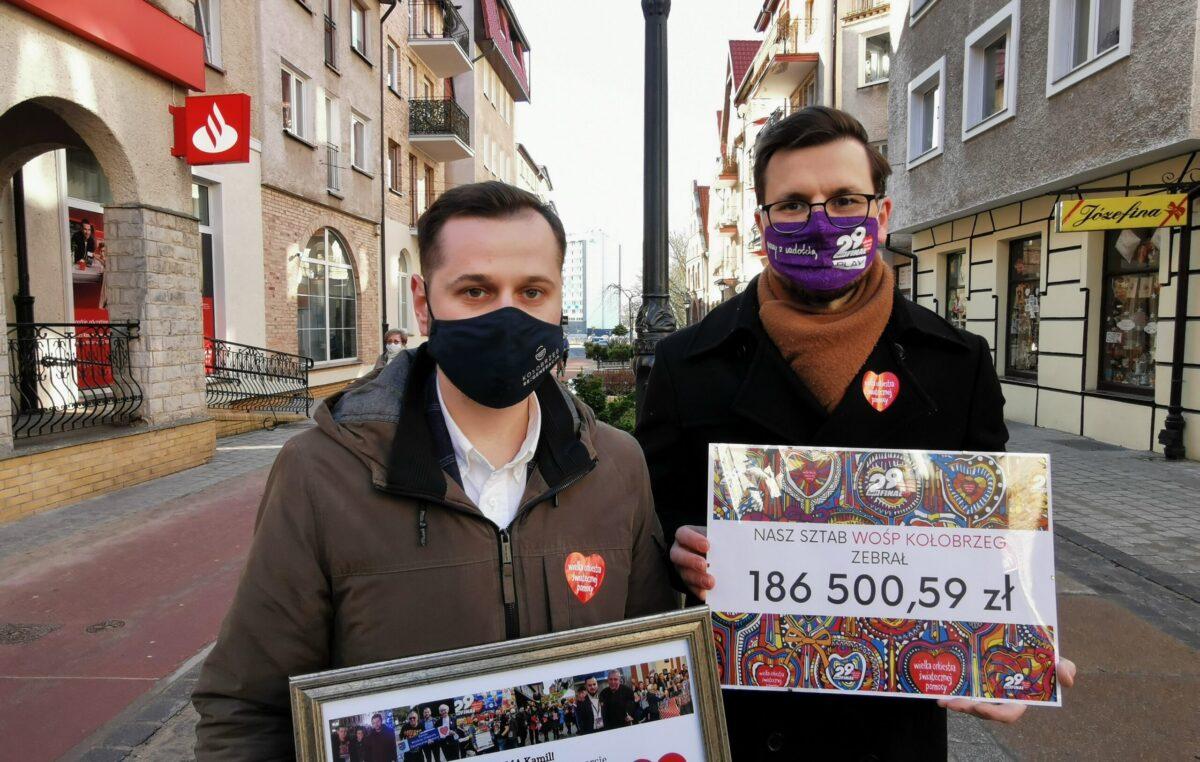Maciej Mądrowski nowym szefem kołobrzeskiego sztabu WOŚP
