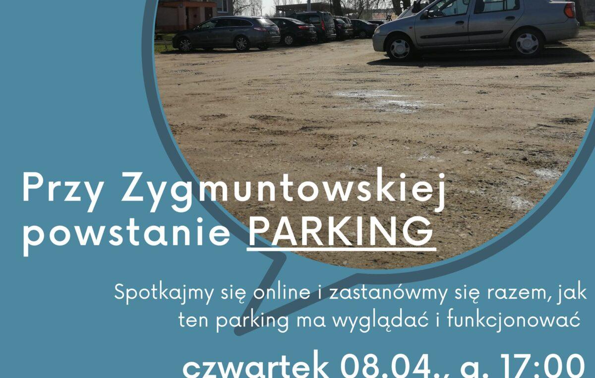 Przy ul. Zygmuntowskiej powstanie parking. Wcześniej prezydent Kołobrzegu zaprasza na konsultacje