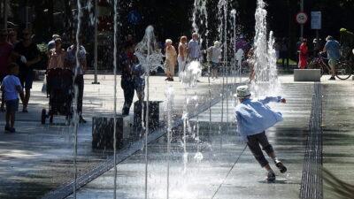 W tym roku po rocznej przerwie wraca najładniejsza fontanna w Kołobrzegu przy kortach tenisowych