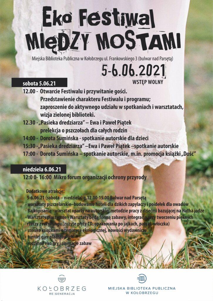 """biblo 21 festiwal 1 1 725x1024 - 5-6 czerwca, biblioteka, Eko Festiwal """"MIĘDZY MOSTAMI"""", wstęp wolny"""
