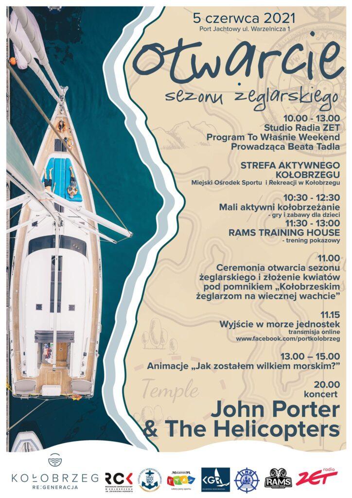 koncert kolobrzeg port 724x1024 - 5 czerwca koncert w porcie jachtowym i dużo więcej. Sprawdź gwiazdę wieczoru