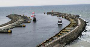 Kołobrzeski port poza Krajowym Planem Odbudowy. A bez poszerzenia wejścia, trudniej będzie zarabiać na obsłudze farm wiatrowych