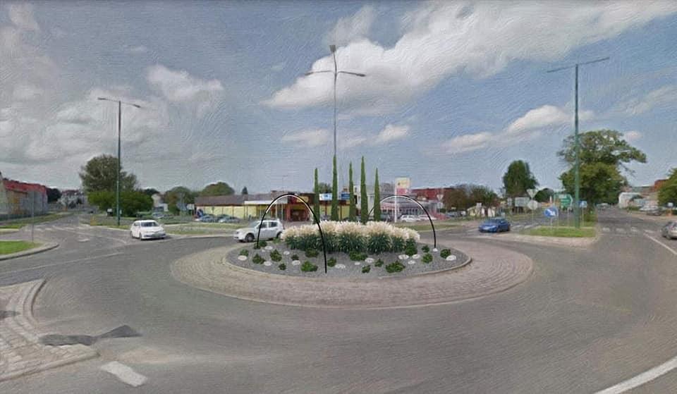 rondo kolobrzeg a - Tak będą wyglądać dwa ronda w Kołobrzegu. Nowa aranżacja zieleni