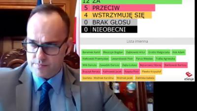 Prezydent Kołobrzegu z wotum zaufania. Skrajne opinie radnych