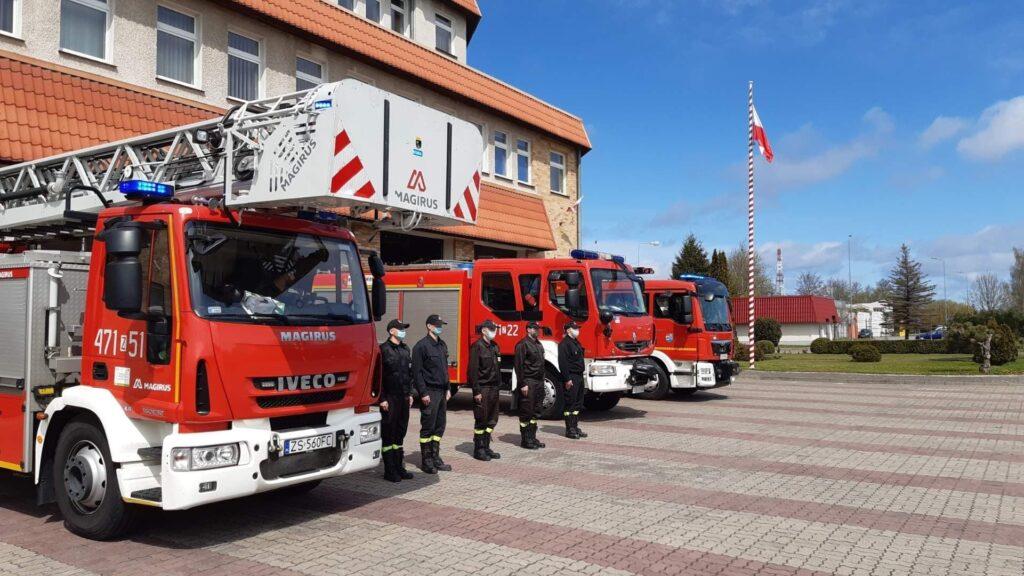 zz4 1024x576 - Kołobrzescy policjanci pożegnali kolegę z Raciborza, który został zastrzelony na służbie