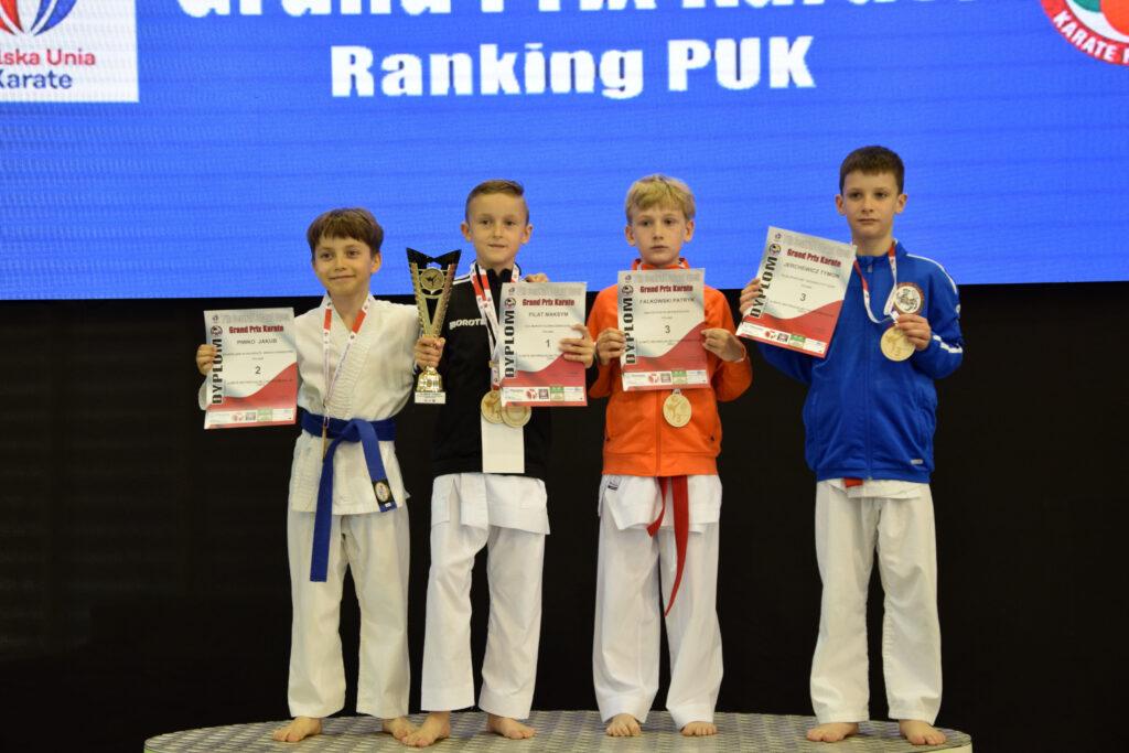 DSC 0357 1024x683 - Świetny występ młodych karateków z Morote Głowaczewo. Niespodziankę sprawili najmłodsi zawodnicy