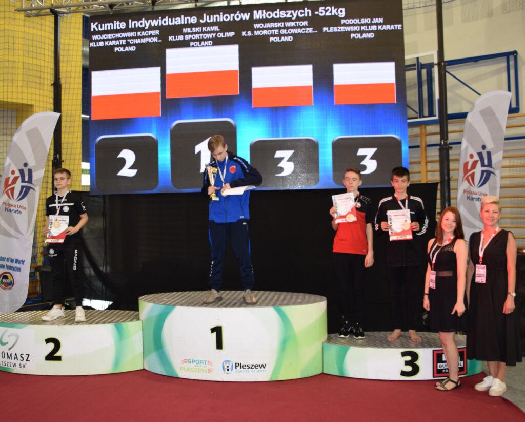 DSC 0859 1024x822 - Świetny występ młodych karateków z Morote Głowaczewo. Niespodziankę sprawili najmłodsi zawodnicy