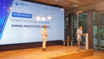Dziś miasto Kołobrzeg zadebiutowało na Giełdzie Papierów Wartościowych. Każdy może kupić jego obligacje